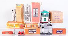 Lot of 8: Lionel Accessories.