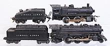 Lionel 1662 Steam Engine, 224 Steam Locomotive.