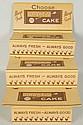 1940s-50s Drake's Cakes Cardboard Rack.
