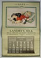 Larger Nashua, NH 1940 Calendar.