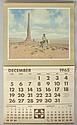 1965 Santa Fe Railway Calendar.