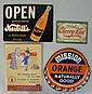 Lot of 5: Whistle & Miscellaneous Signs.