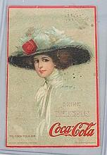 1910 Coca-Cola Postcard.