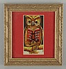 1906 Coca-Cola Owl Bookmark.