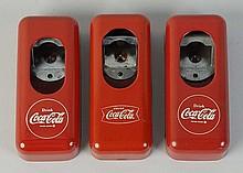 1940s-50s Coca-Cola Bottle Opener Trio.