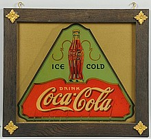 1930s Coca-Cola Applied Decal.