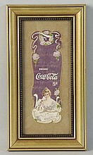 1903 Coca-Cola Bookmark.