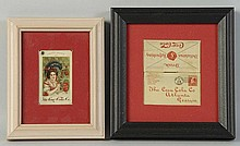 1900 & 1902 Coca-Cola Celluloid Stamp Holders.