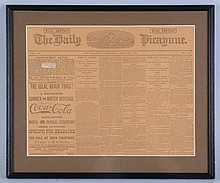 1891 Newspaper Ad for Coca-Cola.