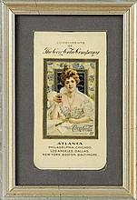 1903 Coca-Cola Celluloid Notepad.