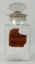 Coca-Cola Pepsin Gum Jar.