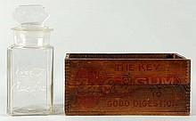 C. 1910-15 Coca-Cola Chewing Gum Jar and Box.