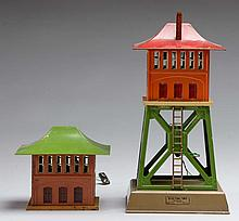 Lionel 438 Signal Tower & 092 Signal Tower.