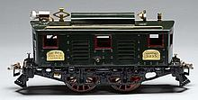 Ives 3235 STD Gauge Box Cab Electric Locomotive.