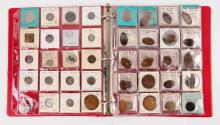 Large Lot Of Love Tokens & Rolled Pennies.