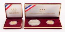 Lot Of 2: 1988 Olympic Commemorative Set.