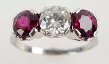 Ruby & Diamond Ring.
