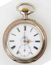Antique Silver Pocket Watch.