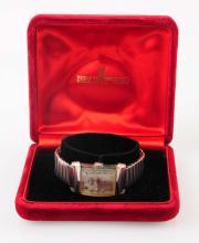 Man's Longines Gold Wrist Watch.