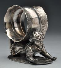 Napkin Ring with Child.