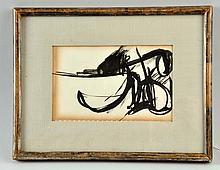 Attributed to Franz Kline (1910-1962).