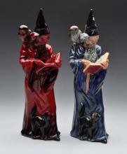 Lot Of 2: Royal Doulton Wizard Figures.