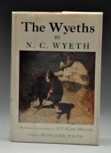 The Wyeths-By N.C. Wyeth-Signed.