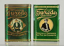 Lot of 2: Tuxedo Pocket Tobacco Tins.