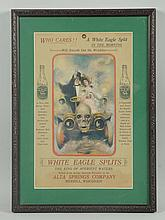 C. 1905 White Eagle Splits Sign.