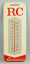 Enjoy RC, Royal Crown Cola Thermometer.