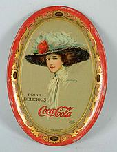 1910 Coca-Cola Change Tray.