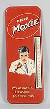 Moxie Advertising Thermometer.