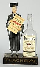 Teacher's Whiskey Display Bottle.