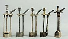 Lot of 5: Syrup Dispenser Pumps.