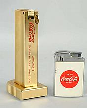 Lot of 2: Coca-Cola Cigarette Lighters.