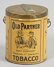 Old Partner Tobacco Pail.