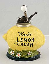 Ward's Lemon Crush Syrup Dispenser.