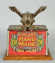 Cigar Cutter with Kohler's Advertising.