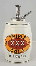 XXX Cola Syrup Dispenser.