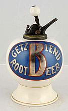 Getz Blend Root Beer Syrup Dispenser.
