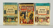 Lot of 3: Vertical Pocket Tobacco Tins.