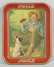 1931 Coca-Cola Serving Tray.