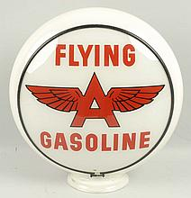 Flying A Gasoline with Logo.