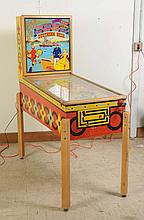 1955 Gottlieb Southern Belle Pinball Machine.