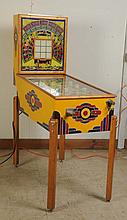 1941 Gottlieb School Days Pinball Machine.