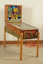 1953 Williams Time Square Pinball Machine.