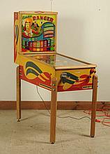 1947 Exhibits Ranger Pinball Machine.