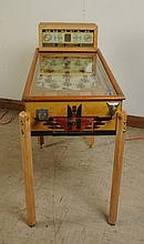 1937 Bumper Bally Pinball Machine.