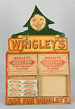 Wrigley Man with 4 Boxes.