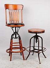 Great Pair of Counter Height Stools.